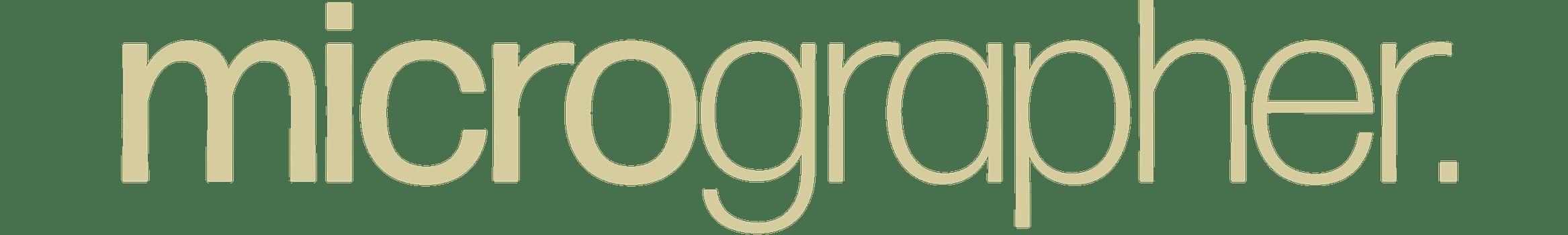 The Micrographer logo